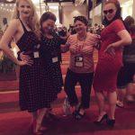 With my Colorado gal pals Cynthia St. Aubin, Jenna Lincoln, and Sarah Hegger