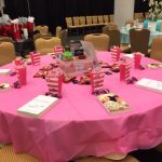 My swag table at my agency's Shooting Star Gala
