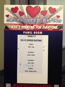 Sci Fi Speed Dating at Denver Comic-Con