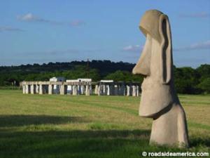 photo of Ingram Stonehenge replica