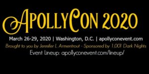 Logo for Apollycon 2020