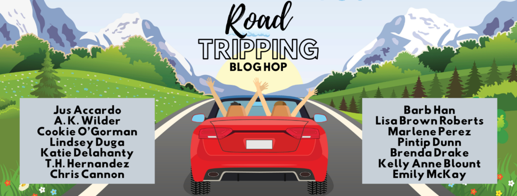 Entangled Teen Road Trip graphic with author names